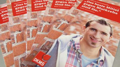 DKMS-Aktionstag bei Mader