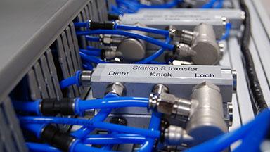 Druckluft Demonstrator für energieeffiziente Druckluft