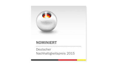 Mader nominiert für deutschen Nachhaltigkeitspreis 2015