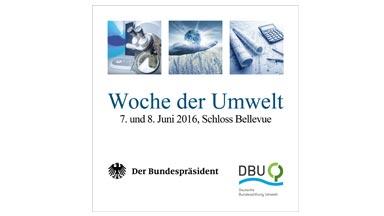 Logo Woche der Umwelt 2016