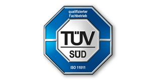 TÜV Logo Druckluft-Audit 11011 von Mader