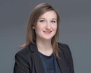 Marina Griesinger, Leiterin Energieeffizienzmanagement